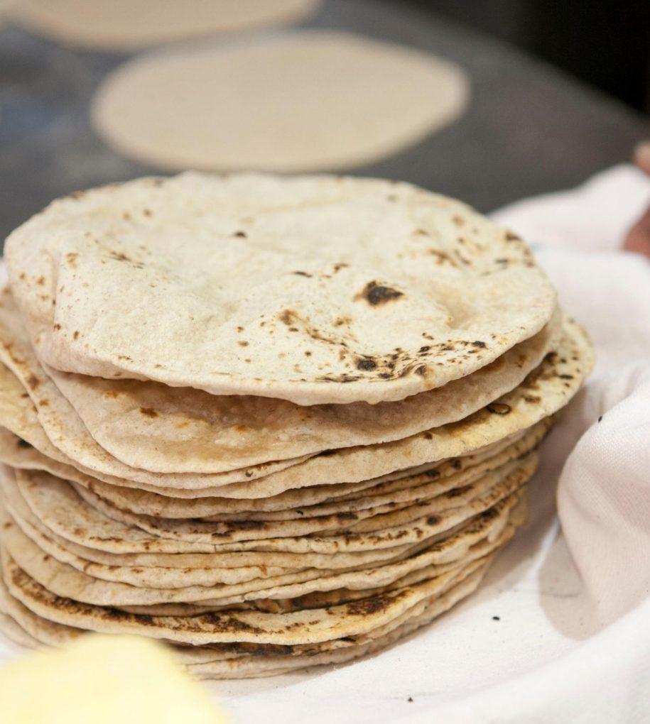 インドの主食チャパティー