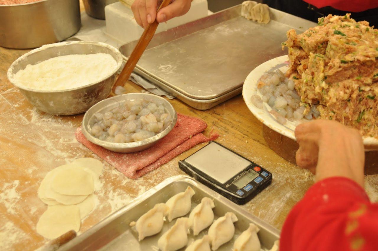 台湾でつくった蒸し餃子