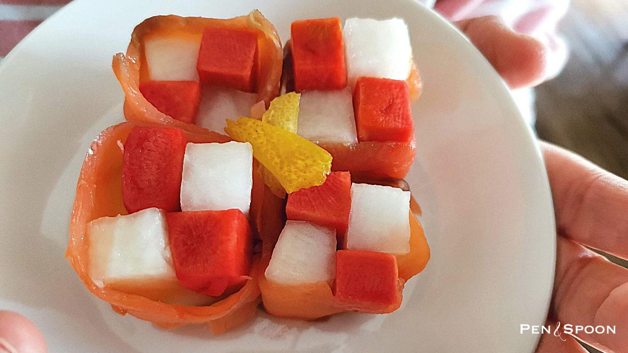 柚子大根アレンジ