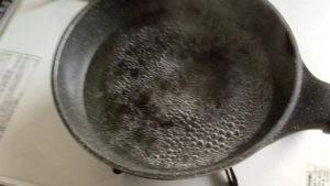 湯せんのお湯