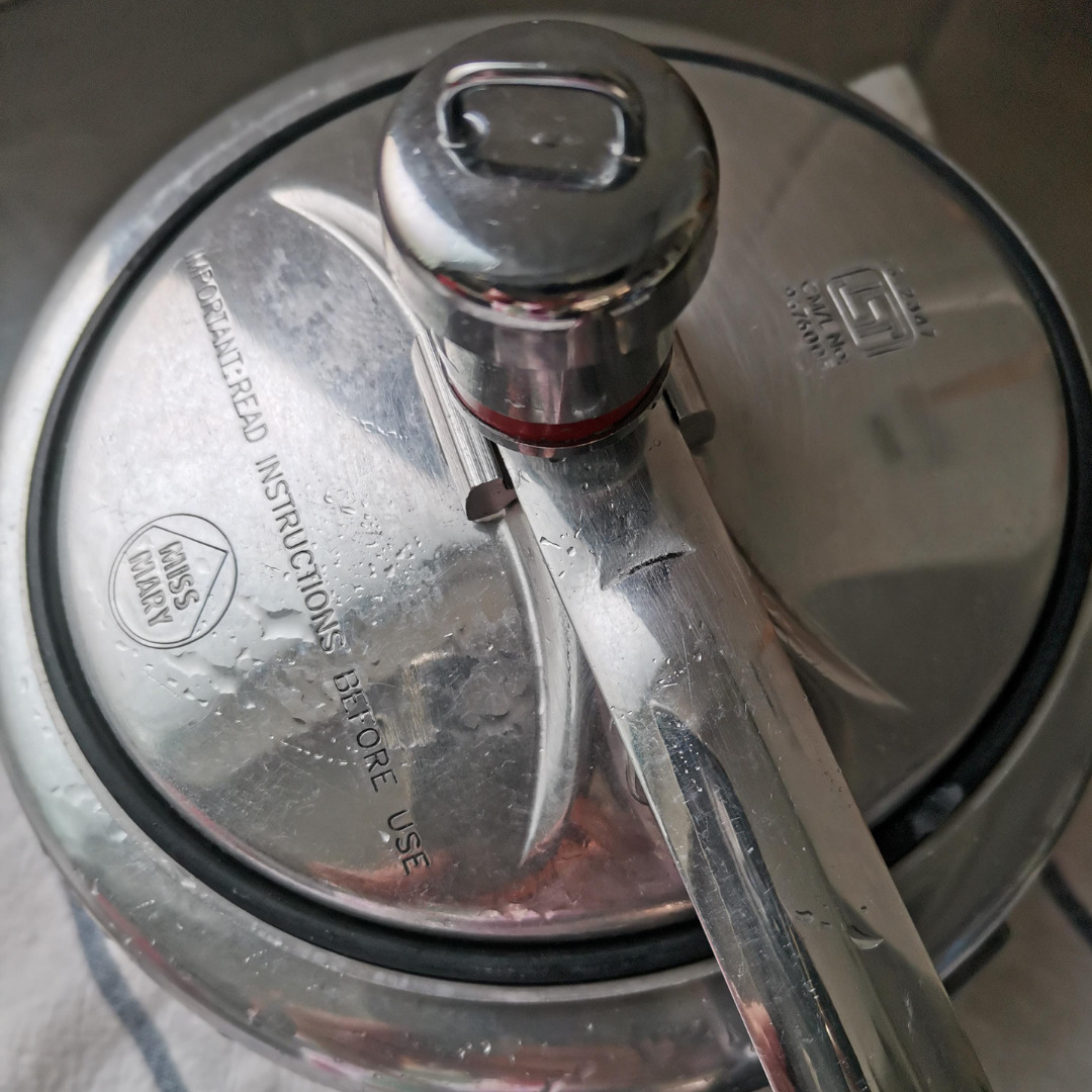 圧力鍋のふた