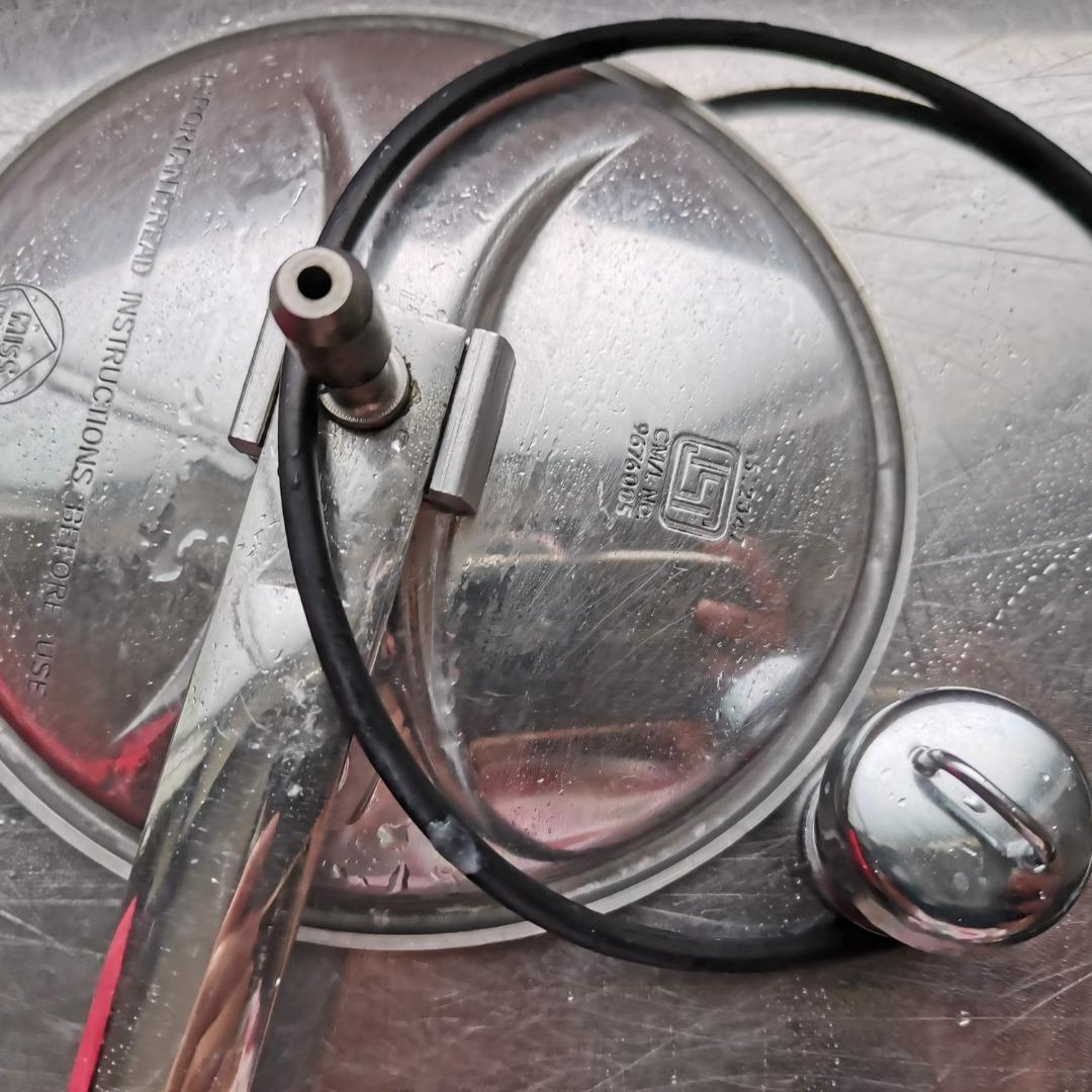 おもり式圧力鍋