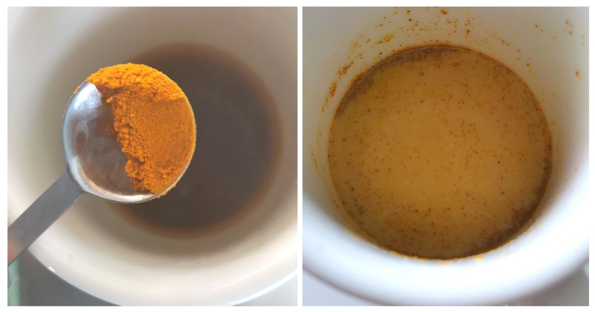 ターメリックコーヒー